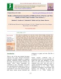 Studies on biochemical composition of different parts of berries and wine quality of wine grape varieties (Vitis vinifera L.)