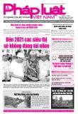 Báo Pháp luật Việt Nam – Số 161 năm 2019