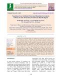 Vegetation cover in Rudat Norah and morphmetric analysis of wadi Al-Atsh watershed, Northwester Riyadh region