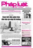 Báo Pháp luật Việt Nam – Số 87 năm 2018