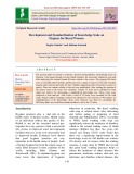 Development and standardization of knowledge scale on hygiene for rural women