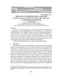 Những yếu tố ảnh hưởng đến sự thay đổi kĩ năng quản lí cảm xúc của giáo viên mầm non tại thành phố Hồ Chí Minh