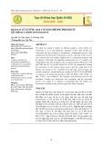 Khảo sát xử lý nước thải y tế bằng phương pháp keo tụ kết hợp quy trình fenton/ozone
