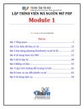 Bài giảng Lập trình viên mã nguồn mở (Module 1) - Bài 1: Tổng quan