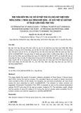 Tính toán kiểm tra các chỉ số phát thải của Nhà máy Nhiệt điện Mông Dương 1 trong quá trình khởi động - đề xuất một số giải pháp kỹ thuật giảm thiểu phát thải