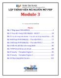 Bài giảng Lập trình viên mã nguồn mở (Module 3) - Bài 1: Tổng quan CSDL MySQL