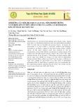 Ảnh hưởng của nồng độ Sodium alginate, nồng độ môi trường và sucrose lên lưu trữ chồi in vitro của 2 giống lan dendrobium bằng kỹ thuật hạt nhân tạo