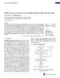 Nghiên cứu qui trình sản xuất bột dinh dưỡng từ đậu nành nảy mầm
