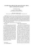 Chuyển dịch một số bài thơ Nôm sang tiếng Hán: Cảm nhận và chia sẻ