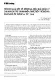 Tiêu chí giám sát và đánh giá hiệu quả quản lý cho khu dự trữ sinh quyển: Thực tiễn thế giới và khả năng áp dụng tại Việt Nam