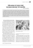 Tiềm năng và thách thức đa dạng sinh học Tây Nguyên