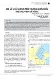 Chỉ số chất lượng môi trường nước biển khu vực vịnh Đà Nẵng