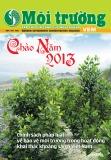 Tạp chí Môi trường: Số 2/2013