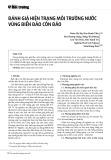Đánh giá hiện trạng môi trường nước vùng biển đảo Côn Đảo