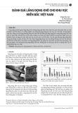 Đánh giá lắng đọng khô cho khu vực miền Bắc Việt Nam