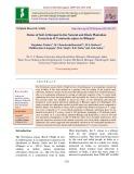 Status of soil arthropod in the natural and block plantation ecosystem of Terminalia arjuna in Bilaspur