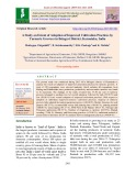 A study on extent of adoption of improved cultivation practices by turmeric growers in Belagavi District, Karnataka, India