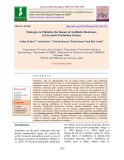 Strategies to minimize the impact of antibiotic resistance in livestock production system