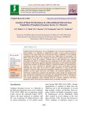 Genetics of shoot fly resistance in a recombinant inbreed lines population of sorghum [Sorghum bicolor (L.) Moench]