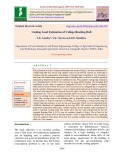 Cooling load estimation of college reading hall