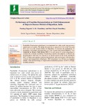 Performance of frontline demonstration on yield enhancement of Bajra in Barmer District of Rajasthan, India