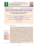 Comparative antimicrobial efficacy evaluation of aqueous and alcoholic extracts of Ayurvedic vaginal formulation for treatment of vaginitis