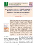 Impact of frontline demonstrations on productivity and profitability of Blackgram (Vigna mungo) in Kota District of Rajasthan, India