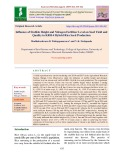 Influence of stubble height and nitrogen fertilizer level on seed yield and quality in KRH-4 hybrid rice seed production
