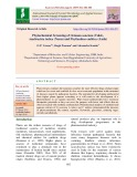 Phytochemical screening of ocimum sanctum (Tulsi), Azadirachta indica (Neem) and Phyllanthus emblica (Amla)