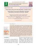 Seroprevalance of Parvovirus B19 among kidney transplant in Libya