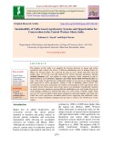Sustainability of coffee based agroforestry systems and opportunities for conservation in the central western Ghats, India
