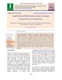 Genetic diversity of chilli (Capsicum annuum L.) genotypes