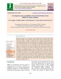 Development and acceptability of novel food products from millets for school children