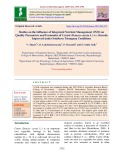 Studies on the influence of integrated nutrient management (INM) on quality parameters and economics of carrot (Daucas carota L.) cv. Kuroda improved under southern Telangana conditions