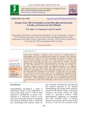 Organic nano NPK formulations on soil microbial and enzymatic activities on post-harvest soil of Bhindi