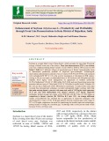 Enhancement of soybean (Glycine max L.) productivity and profitability through front line demonstrations in Kota district of Rajasthan, India