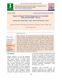 Impact of organic nutrient management on crop quality, yield and soil health: A review