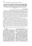 Ứng dụng quy trình hình thành hydrat khí trong thu gom, vận chuyển và tàng chứa khí thiên nhiên