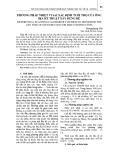 Phương pháp nhiệt vi sai xác định tuổi thọ của ống địa kỹ thuật xây dựng đê