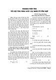 Phương pháp tính tốc độ tăng năng xuất các nhân tố tổng hợp