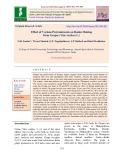 Effect of various pretreatments on raisin making from grapes (Vitis vinifera L.)