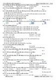 Đề cương ôn tập học kì 2 môn Tin học 9 năm 2017-2018 - Trường THCS Hòa Ninh