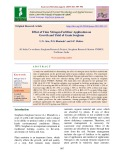 Effect of time nitrogen fertilizer application on growth and yield of grain sorghum