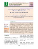 Constraints faced by farmers practicing organic farming in hill region of Uttarakhand, India