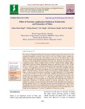 Effect of nutrients application method on productivity and economics of maize