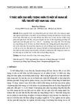 Ý thức kiến tạo biểu tượng nhìn từ một số nhan đề tiểu thuyết Việt Nam sau 1986