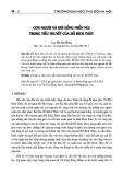 Con người và đời sống miền núi trong tiểu thuyết của Đỗ Bích Thúy