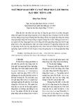 Ngữ pháp giao tiếp và ngữ pháp hàn lâm trong dạy học tiếng Anh