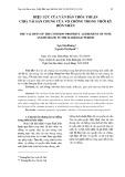 Hiệu lực của văn bản thỏa thuận chia tài sản chung của vợ chồng trong thời kỳ hôn nhân