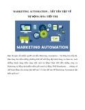 Marketing Automation - Tất tần tật về tự động hóa tiếp thị